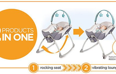 Must-Have Baby Gear {featuring} Graco Little Lounger™