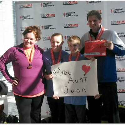 Live to Inspire {A Fight for Air Climb story}