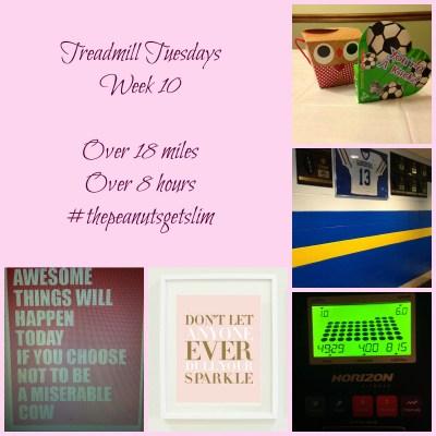 Exercise Dreams {Treadmill Tuesdays – Week 10}