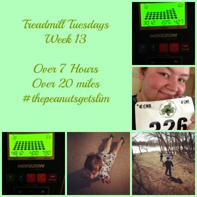 Run (5k) Run! {Treadmill Tuesdays – Week 13}