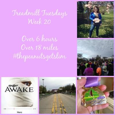 Halfsies {Treadmill Tuesdays – Week 20}