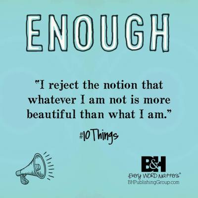 You Are Enough. #10Things #Giveaway