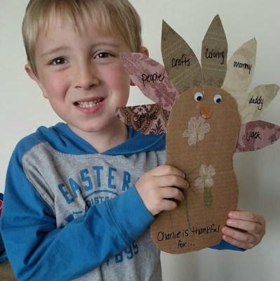 Thankful for my Little Turkeys {& Teaching Toddlers Thankfulness}
