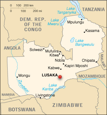 Life's Big Adventure in 2014: Zambia, Africa