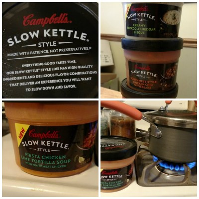 Lunchtime Retreat in Your Living Room {Courtesy of Campbell's® Slow Kettle® soup}