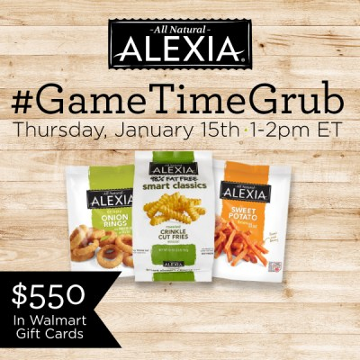 RSVP for the #GameTimeGrub Twitter Party