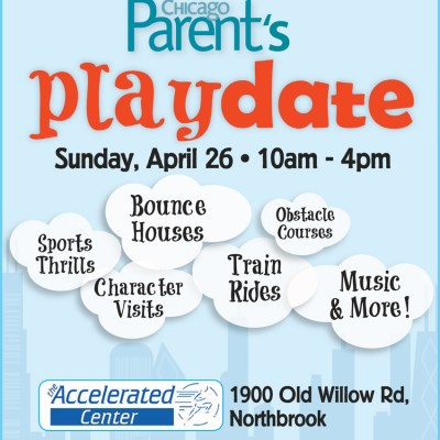 Chicago Parent Playdate – April 26th {Giveaway}