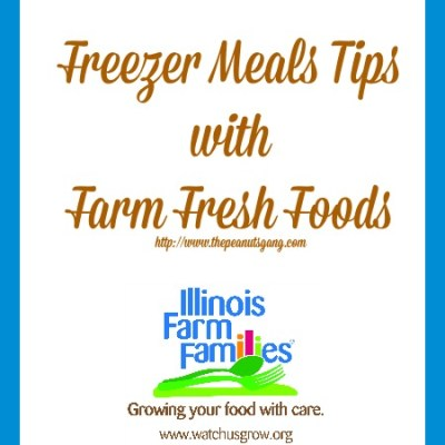 Freezer Meal Tips with Farm Fresh Foods! #ILFarmFamilies