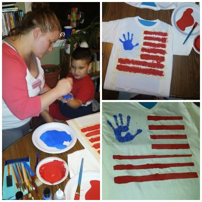Simple Personalized #FourthofJuly Shirts!