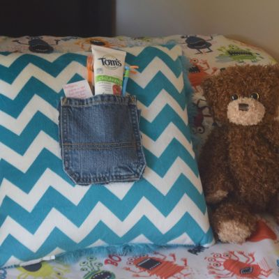 No-Sew Tooth Fairy Pillow