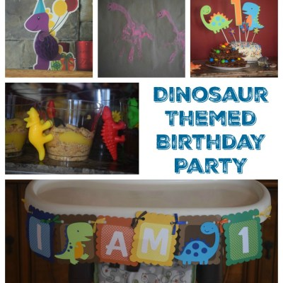 RAWR! A Dinosaur Themed Birthday Party