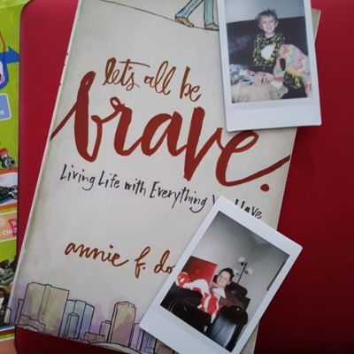 Book Review: let's all be brave.