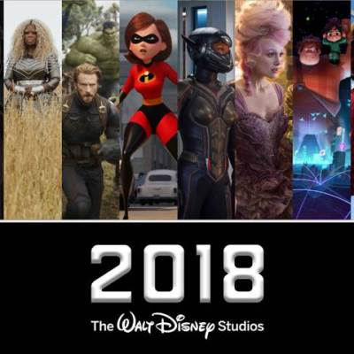 2018 Walt Disney Motion Pictures Slate
