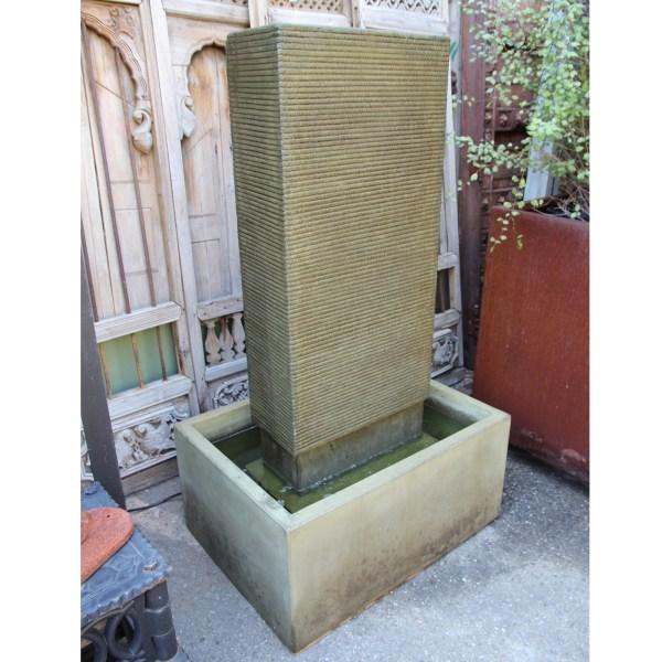 Green Cement Ripple Fountain Furniture Design Mix