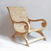 Teak Wood Lounge Chair Furniture