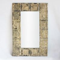 Vintage Tin Ceiling Mirror Furniture | Mix Furniture