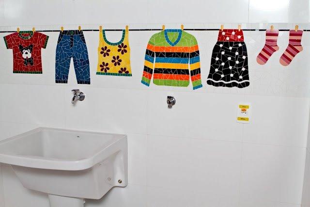 Dicas para decorar sua lavanderia  Blog Mix Lar