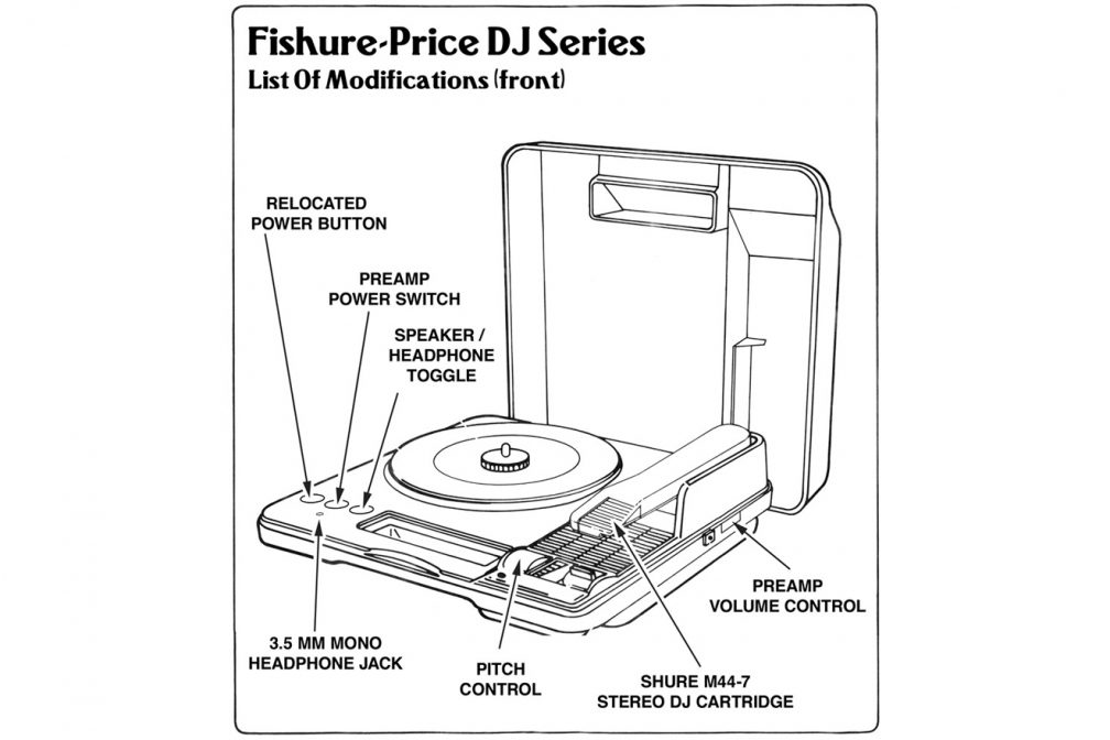 A hacker is turning Fisher-Price turntables into workable
