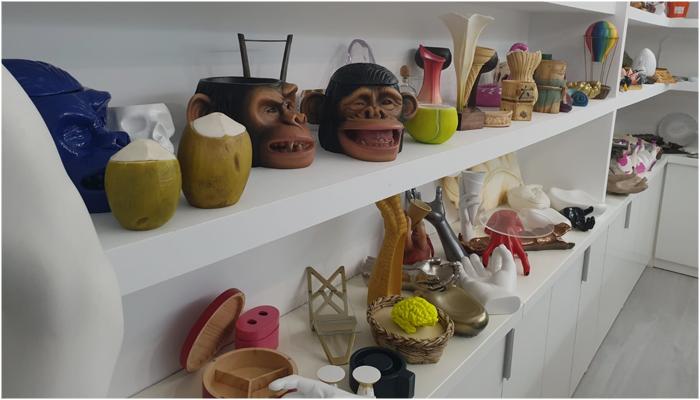 El taller de Piñero Vajillas Experimentales