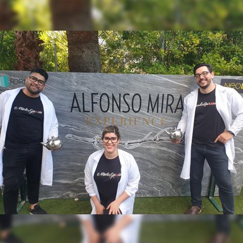 Evento Alfonso Mira y MixoloGar&cia