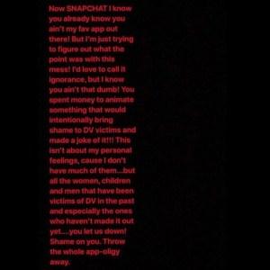 Rihanna VS Snapchat