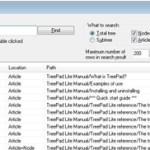 TreePad Lite 4.3