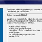 pySQLite 2.6.0