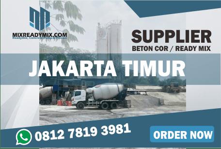 READY MIX JAKARTA TIMUR