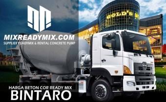 harga beton cor ready mix bintaro