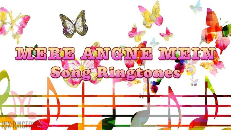 Mere Angne Mein Song Ringtone By Neha Kakkar