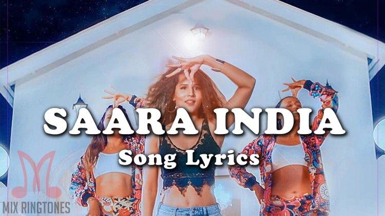 Payal Dev Saara India Song Lyrics