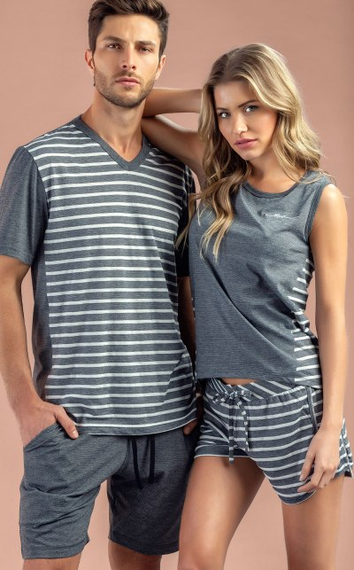 Pijama Blusa Regata com Short