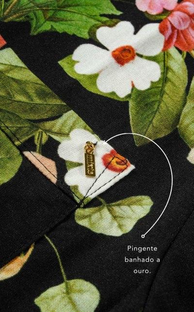 Premium — Pijama Cardigan Manga Curta com Calça