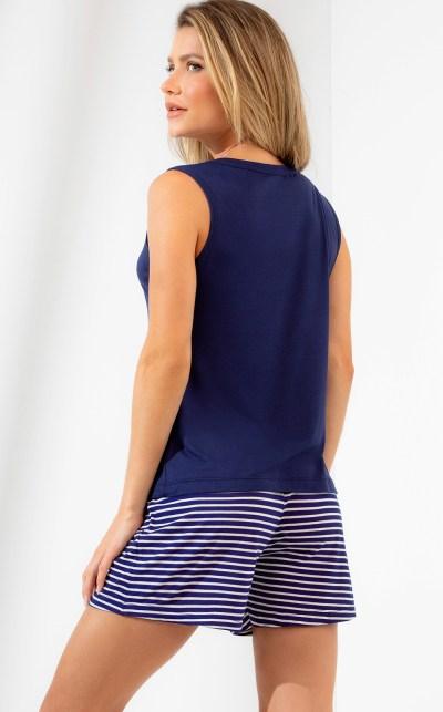 Pijama Blusa com Short