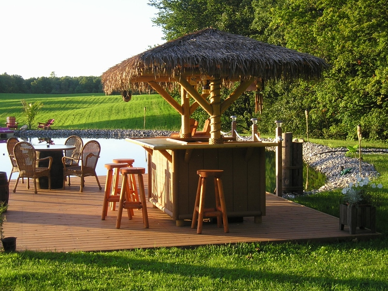 How to Build a Tiki Bar in Your Backyard  2019 Mixture Home