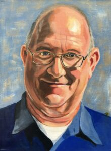 Dick - In opdracht Acryl op canvas (30 x 40)