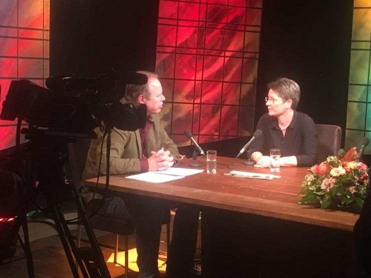 Interview in het TV programma 'Katwijk Live'