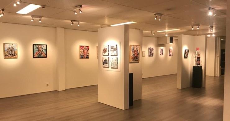 Expositie bij Baalbergen Katwijk