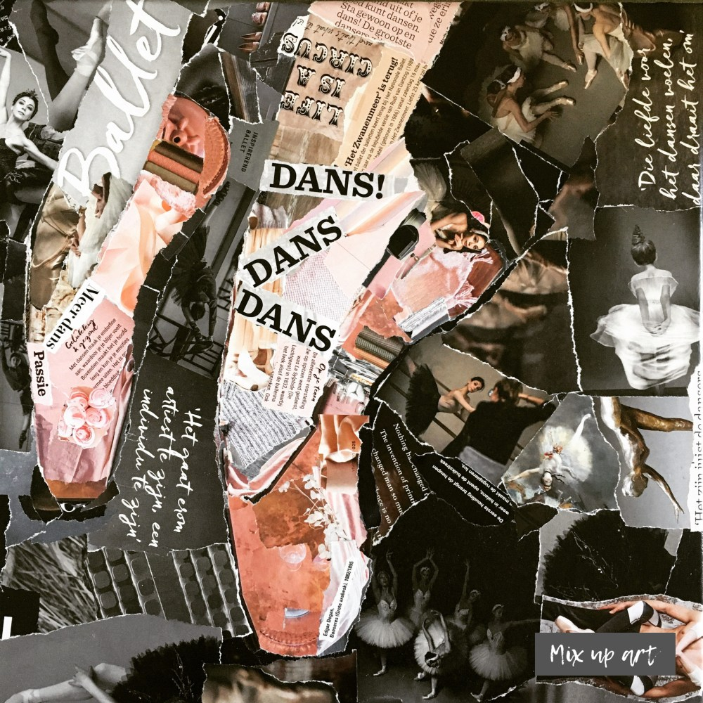 Spitzen - € 500,- Collage (40 x 40)