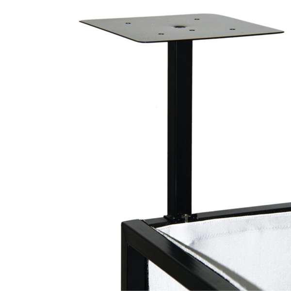 Novopro SDX Booth Podium Shelves (Black)