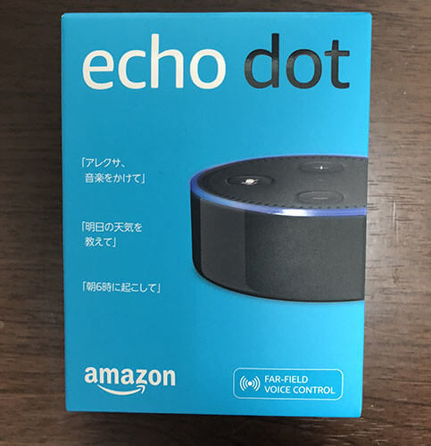 Amazon Echo Dot箱