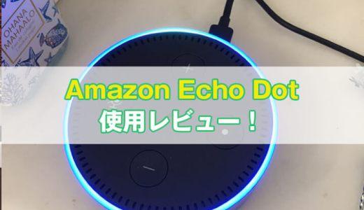 【レビュー】Amazon Echo Dotの使い方・設定方法を徹底解説【スマートスピーカー】