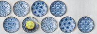 Monyou Blue & White Japanese Dishes   Plates - Bowls ...