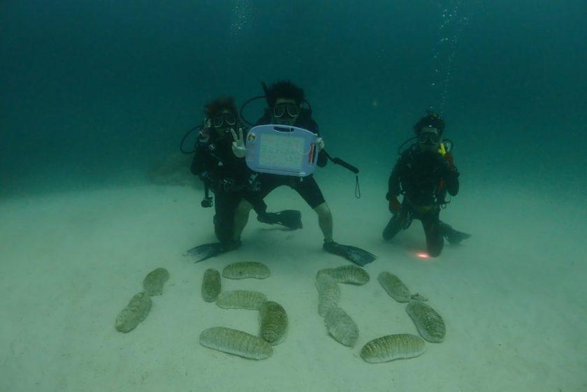 オーストラリア グレートバリアリーフ オーシャンクエスト 150本記念ダイブ