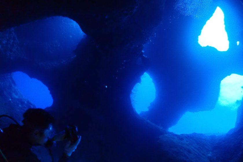 下地島でファンダイビング