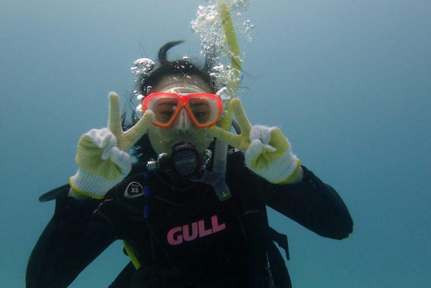 宮古島でダイビングのライセンス講習