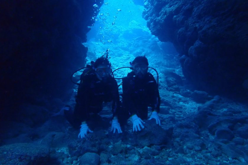 宮古島体験ダイビング・中の島チャネル