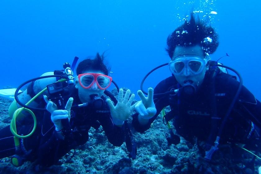 宮古島・体験ダイビング