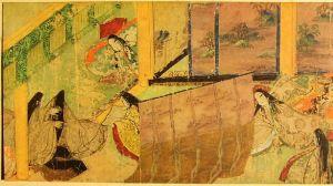 Genji Monogatari Emaki, Tokugawa Art Museum, 12th Century