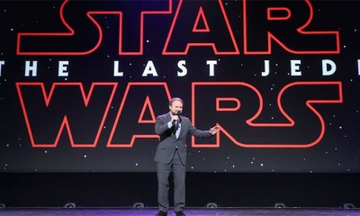 / Rian Johnson, director de 'El Último Jedi', durante una exposición en California. 15 de julio de 2017. Jesse Grant / Gettyimages.ru